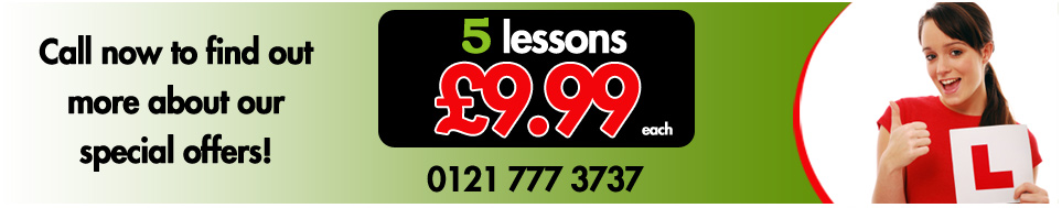 Special offer 5 lessons 9.99 each